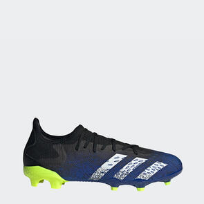 adidas Predator Freak.3 Low FG – Black/White/Yellow