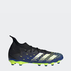 adidas Predator Freak.3 MG – Black/White/Yellow