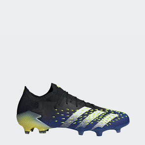 adidas Predator Freak.1 Low FG – Black/White/Yellow