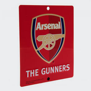 Arsenal Square Window Sign