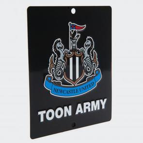 Newcastle United Square Window Sign