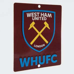 West Ham United Square Window Sign