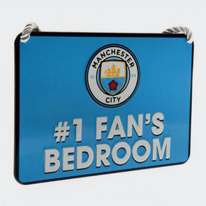 Manchester City Bedroom Sign No.1 Fan