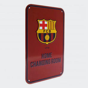 Barcelona Home Changing Room Sign