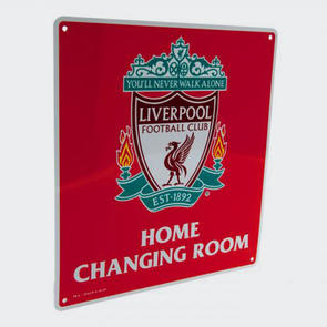 Liverpool Home Changing Room Sign