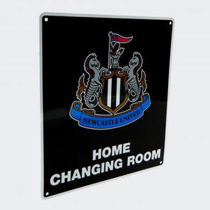 Newcastle United Home Changing Room Sign
