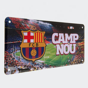 Barcelona Camp Nou Metal Sign
