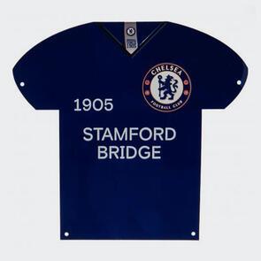 Chelsea Metal Shirt Sign