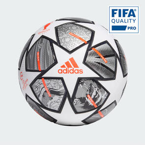 adidas Finale 21 UCL Official Match Ball – White/Silver/Orange