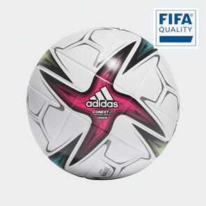 adidas Conext21 League Ball – White/Black/Pink