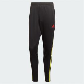 adidas Tiro CU Track Pant – Black/Yellow/Red