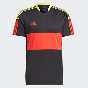 adidas Tiro CU Shirt – Black/Red/Yellow