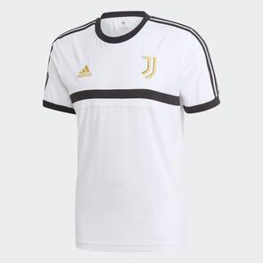 adidas Juventus 3-Stripe Tee