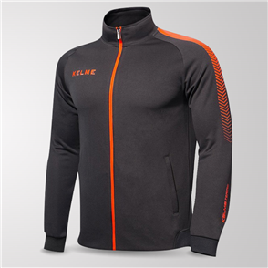 Kelme Estadio Training Jacket – Grey/Orange