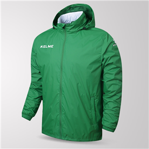 Kelme Junior Clima Wind & Rain Jacket – Green