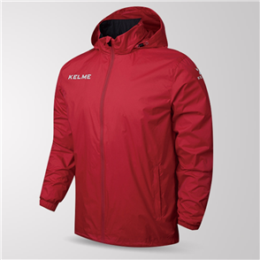 Kelme Junior Clima Wind & Rain Jacket – Red