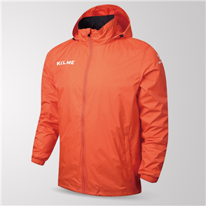 Kelme Junior Clima Wind & Rain Jacket – Orange