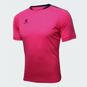 Kelme Flecha Shirt – Neon-Rose/Navy