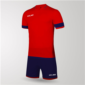 Kelme Capitan Jersey & Short Set – Red/Navy