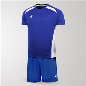 Kelme Academia Jersey & Short Set – Royal-Blue/White