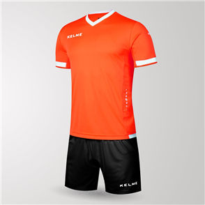 Kelme Defensa Jersey & Short Set – Neon-Orange/White