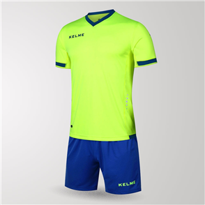 Kelme Defensa Jersey & Short Set – Neon-Green/Blue