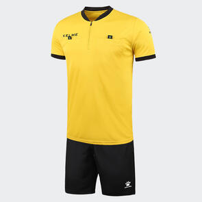 Kelme Arbitro III Short Sleeve Referee Set – Yellow/Black