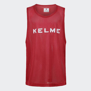 Kelme Junior Training Bib – Red/White