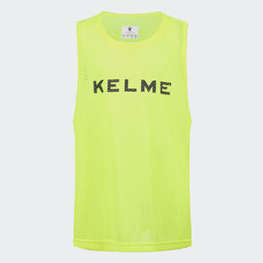 Kelme Junior Training Bib – Neon-Yellow/Black
