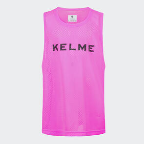 Kelme Junior Training Bib – Neon-Pink/Black