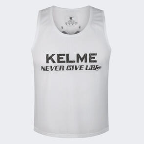 Kelme Training Bib – White/Black