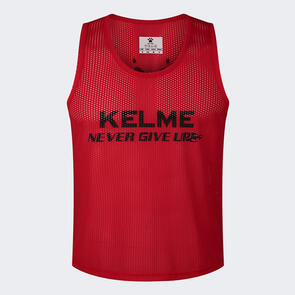 Kelme Training Bib – Red/Black