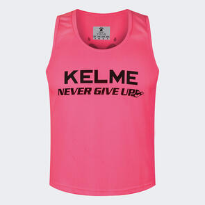 Kelme Training Bib – Neon-Pink/Black
