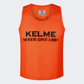 Kelme Training Bib – Neon-Orange/Black