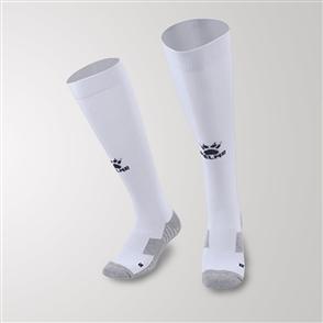 Kelme Equip Long Calf Football Sock – White/Black
