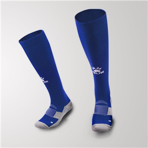 Kelme Equip Long Calf Football Sock – Navy/White