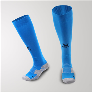 Kelme Equip Long Calf Football Sock – Sea-Blue/Black