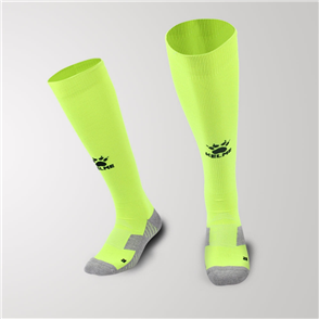 Kelme Equip Long Calf Football Sock – Green/Black