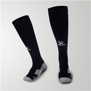Kelme Junior Equip Long Calf Football Sock – Black/White