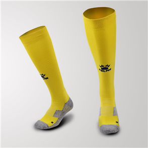 Kelme Junior Equip Long Calf Football Sock – Yellow/Black