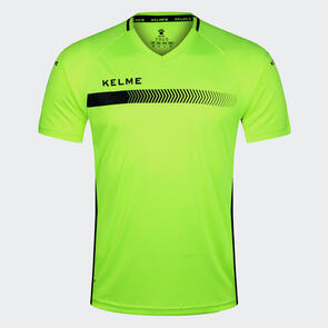 Kelme Fade Shirt – Neon-Yellow/Black
