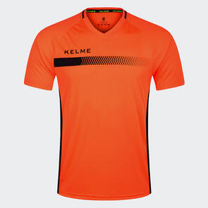 Kelme Fade Shirt – Neon-Orange/Black