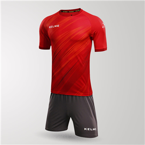 Kelme Extremo Jersey & Short Set – Red/White