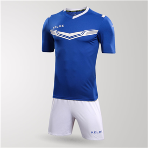 Kelme Goleador Jersey & Short Set – Blue/White