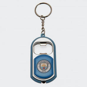 Manchester City Key Ring Torch Bottle Opener