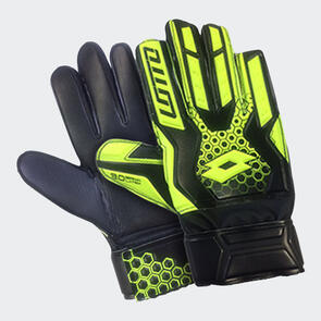Lotto Spider 800 GK Gloves – Black/Yellow