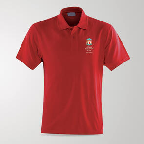 TSS Official LFC Supporters Club of NZ Polo – Red
