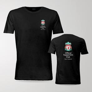 TSS Official LFC Supporters Club of NZ Tee – Black