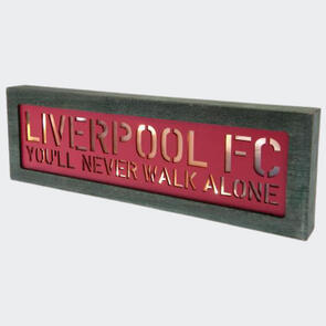 Liverpool Light Up Wooden Sign