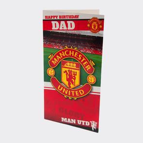 Manchester United Birthday Card Dad